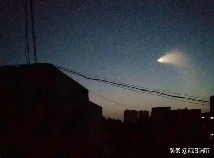 china presencia ovni - Pánico en China por la presencia de un OVNI durante unas pruebas militares