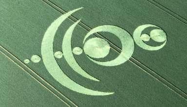 circulo en los cultivos francia 384x220 - Aparece un extraño y complejo círculo en los cultivos en Francia que anuncia el inminente Apocalipsis