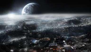 enorme estructura metalica luna 384x220 - Científicos han descubierto una enorme estructura metálica oculta debajo de la superficie de la Luna