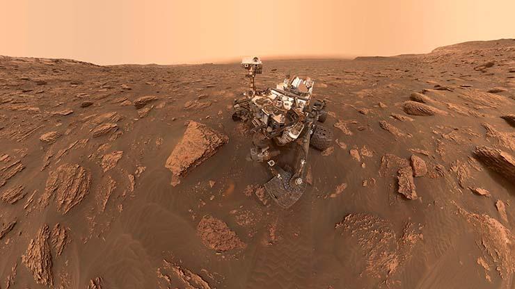 vida extraterrestre en marte - El rover Curiosity de la NASA halla claras evidencias de vida extraterrestre en Marte