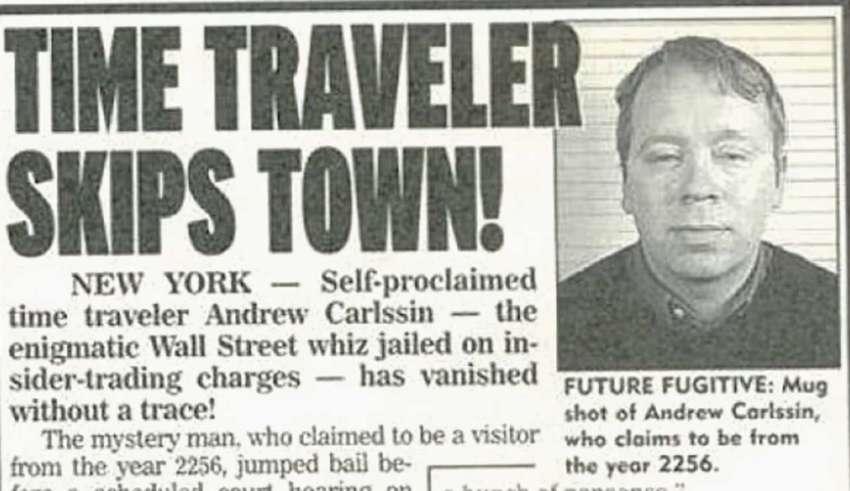andrew carlssin inversor futuro 850x491 - Andrew Carlssin, el inversor que vino del futuro y ganó millones de dólares en dos semanas