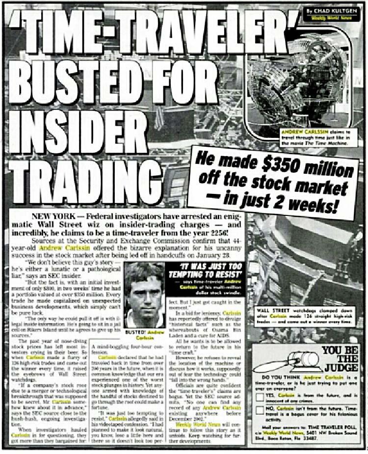 andrew carlssin inversor vino futuro - Andrew Carlssin, el inversor que vino del futuro y ganó millones de dólares en dos semanas