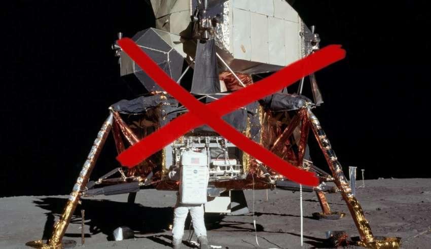 llegada luna mentira 850x491 - El teórico de la conspiración que fue agredido por Buzz Aldrin asegura tener pruebas de que la llegada a la Luna es mentira