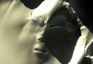 cara extraterrestre antartida 320x220 - Descubren una gigantesca cara extraterrestre en la Antártida