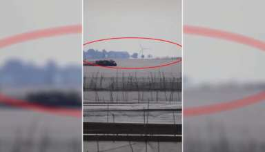 china ciudad fantasma 384x220 - Conmoción en China por la aparición de una 'ciudad fantasma' sobre un lago con todo tipo de detalles