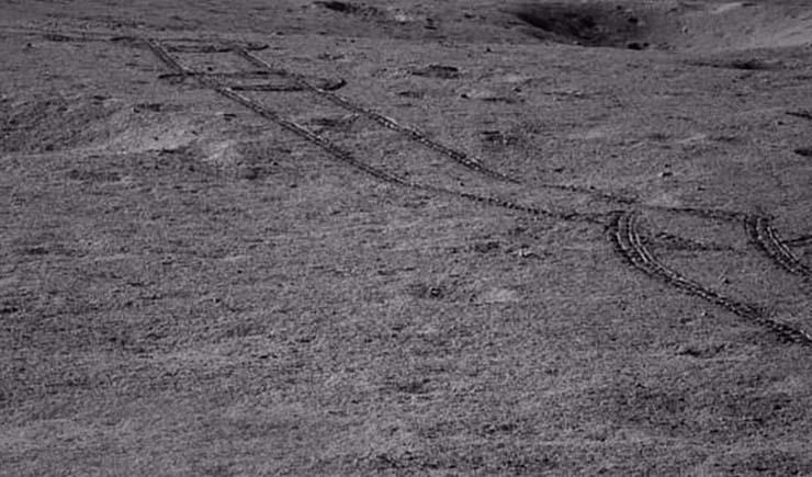 sustancia extraterrestre luna - El rover lunar chino descubre una misteriosa sustancia extraterrestre en la cara oculta de la Luna