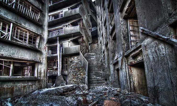 hashima misteriosa isla fantasma - Hashima, la misteriosa isla fantasma de Japón