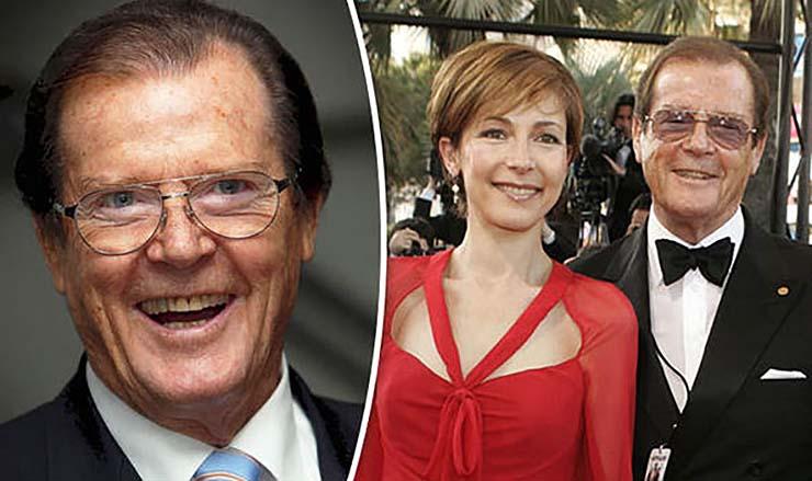 hija roger moore - La hija de Roger Moore dice que el mítico actor de James Bond le envía mensajes desde el más allá