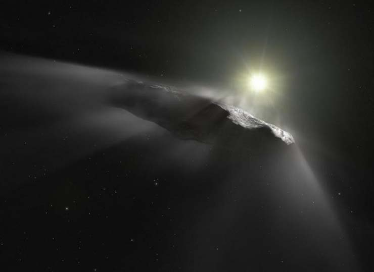 objeto interestelar - Astrónomos detectan un nuevo objeto interestelar visitando nuestro sistema solar