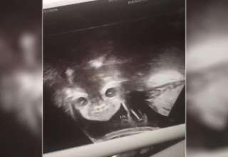 rostro demoniaco 320x220 - Una mujer embarazada queda conmocionada al ver un rostro demoníaco durante su ecografía