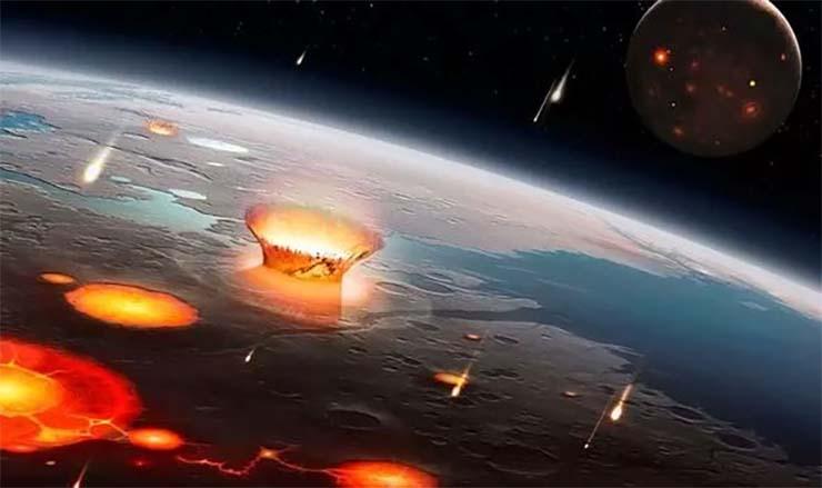 enjambre asteroides tierra - LA NASA advierte que un enjambre de asteroides se dirige hacia la Tierra