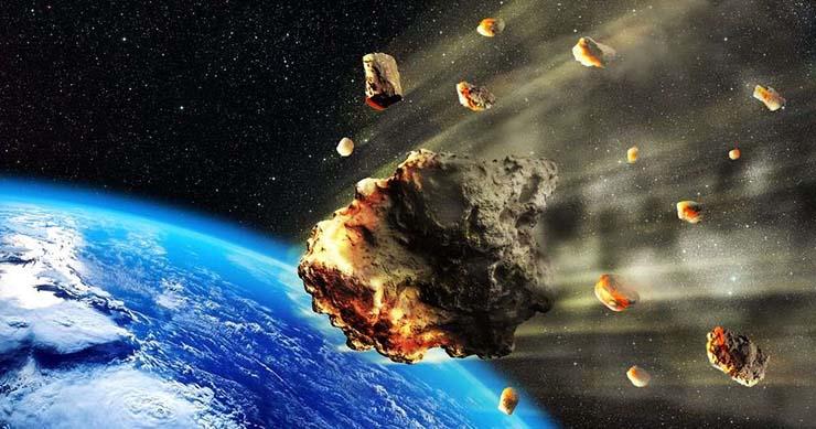 enjambre de asteroides - LA NASA advierte que un enjambre de asteroides se dirige hacia la Tierra