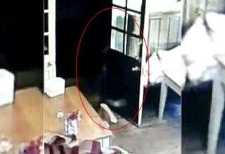 fantasma de una nina 320x220 - Cámara de seguridad muestra el fantasma de una niña persiguiendo a la camarera de un pub inglés