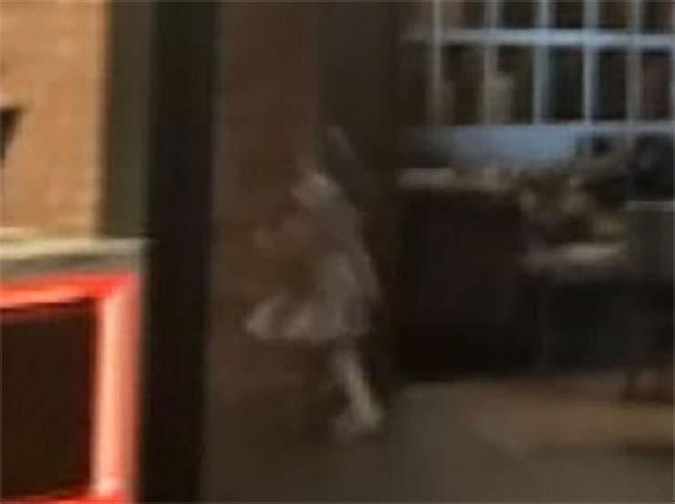 fantasma nina en casino - Una mujer fotografía el fantasma de una niña en un casino de Estados Unidos