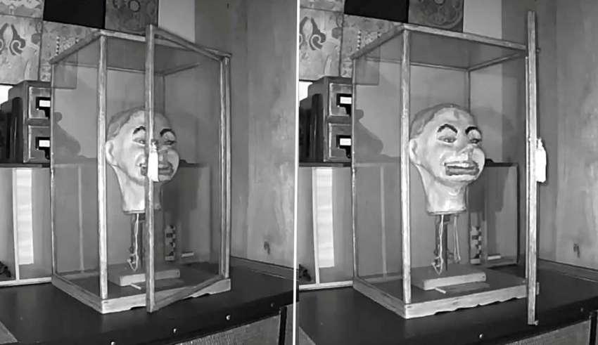 muneco ventrilocuo nazi 850x491 - Un video muestra el aterrador momento en el que un muñeco ventrílocuo nazi parpadea y mueve la boca por sí solo