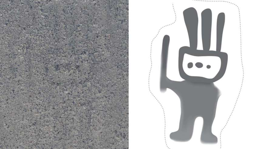 nazca humanoide extraterrestre 850x491 - La inteligencia artificial descubre 140 nuevas líneas de Nazca, incluido un humanoide extraterrestre