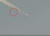 ovni chemtrail 104x74 - Un hombre graba un OVNI saliendo de un chemtrail