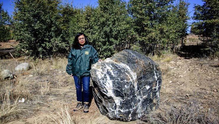 roca gigante desaparece misteriosamente arizona - Una roca gigante desaparece misteriosamente y reaparece en Arizona