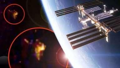 cosmonauta ruso ovni 384x220 - Un cosmonauta ruso de la EEI informa sobre la presencia de un OVNI y la NASA le corta abruptamente