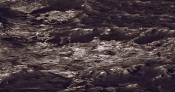 gran letra b marte - Hallan una gran letra 'B' en una foto de Marte enviada por el rover Curiosity de la NASA