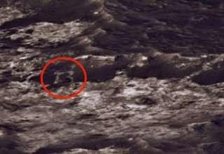 letra b marte 320x220 - Hallan una gran letra 'B' en una foto de Marte enviada por el rover Curiosity de la NASA