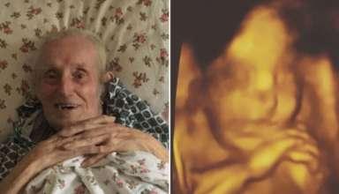reencarnacion abuelo 384x220 - Una mujer ve la reencarnación de su abuelo fallecido en la ecografía de su bebé