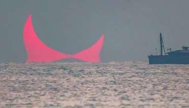 cuernos diablo 384x220 - Aparecen los 'cuernos del diablo' sobre el golfo Pérsico, ¿señal apocalíptica?