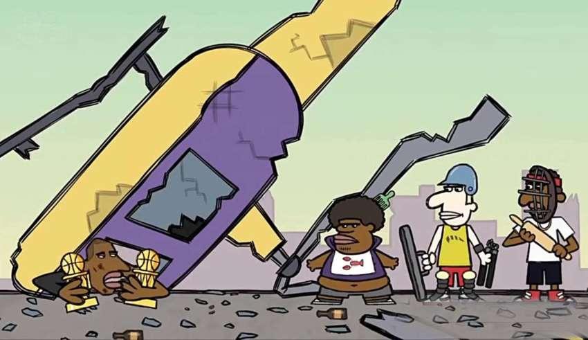 muerte kobe bryant 850x491 - Una serie animada predijo hace cuatro años la muerte de la leyenda del baloncesto Kobe Bryant