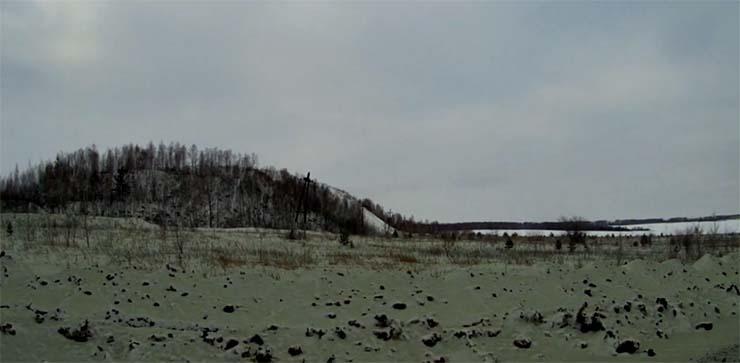 nieve verde ciudad cheliabinsk - Cae nieve verde en la ciudad rusa de Cheliábinsk y nadie sabe cuál es su origen