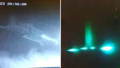 ovni california 384x220 - Un vigilante de seguridad se sorprende al ver un OVNI despegando de una construcción en California