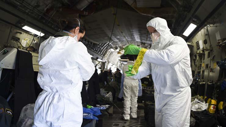 pandemia coronavirus a nivel mundial - El ejército de los EE. UU. se prepara para una pandemia de coronavirus a nivel mundial