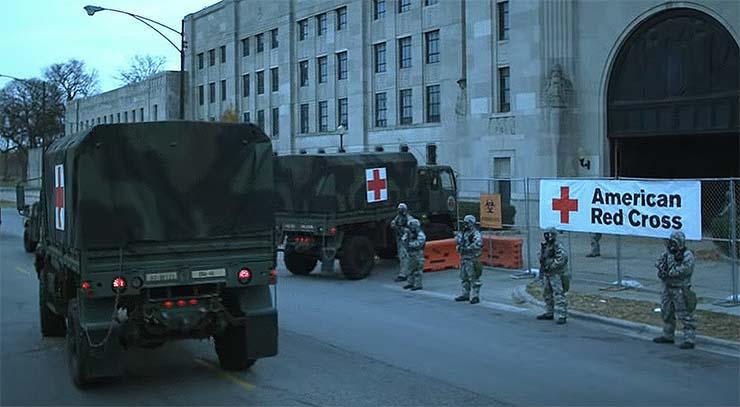 pandemia de coronavirus a nivel mundial - El ejército de los EE. UU. se prepara para una pandemia de coronavirus a nivel mundial