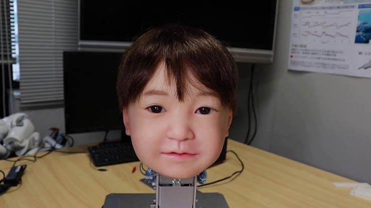 robot estilo blade runner - Científicos japoneses crean el primer robot al estilo 'Blade Runner' que puede sentir dolor