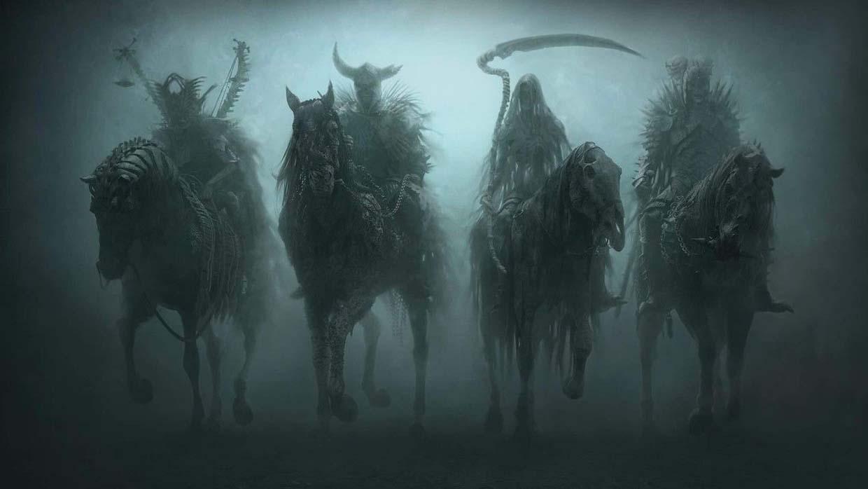 Resultado de imagen de cuatro jinetes del apocalipsis