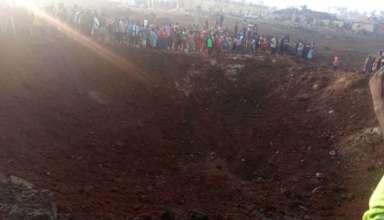 asteroide nigeria 384x220 - Un asteroide impacta en Nigeria y provoca un enorme cráter