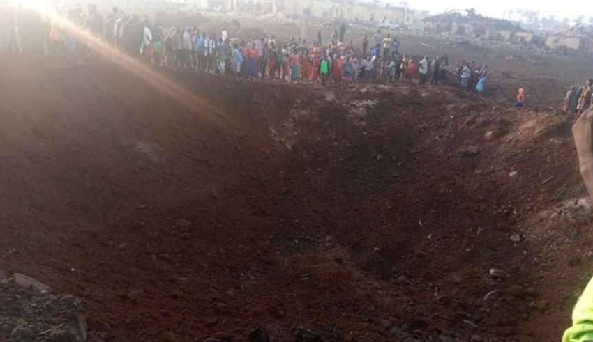asteroide nigeria 850x491 - Un asteroide impacta en Nigeria y provoca un enorme cráter