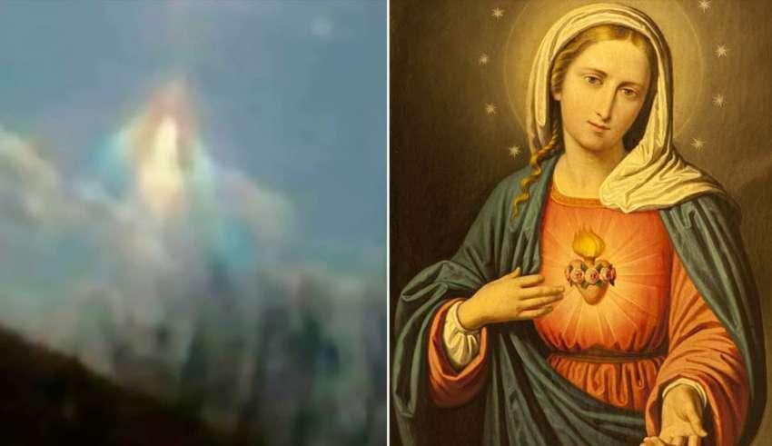virgen maria coronavirus 850x491 - La Virgen María aparece en el cielo sobre Argentina y la gente dice que los está protegiendo del coronavirus