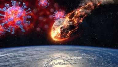 coronavirus asteroide 384x220 - ¿La pandemia de coronavirus es una 'cortina de humo' para el impacto de un asteroide el 29 de abril?