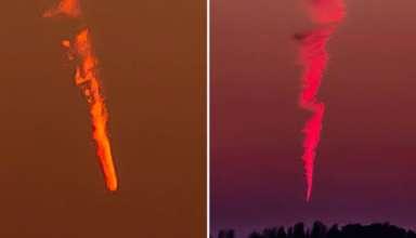 extranos objetos cayendo cielo 384x220 - Extraños objetos están cayendo del cielo en todo el mundo y nadie sabe lo que son