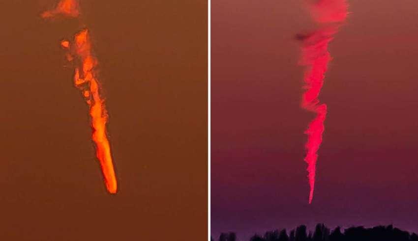 extranos objetos cayendo cielo 850x491 - Extraños objetos están cayendo del cielo en todo el mundo y nadie sabe lo que son