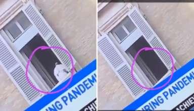 papa francisco desaparece misteriosamente 384x220 - El Papa Francisco desaparece misteriosamente en la ventana del Vaticano