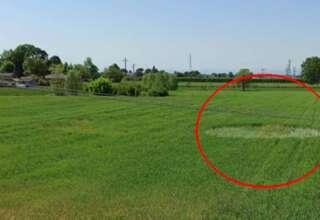 circulo cultivos italia 320x220 - Aparece un círculo en los cultivos en Italia, epicentro del coronavirus en Europa