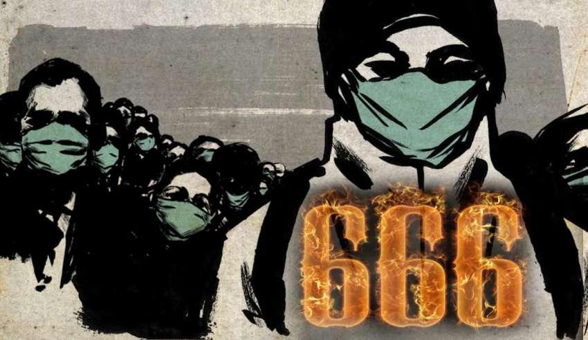 coronavirus 666 850x491 - La extraña relación entre la pandemia de coronavirus, el 666 y el Anticristo