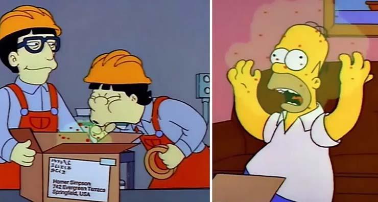 los simpson coronavirus - Un guionista de 'Los Simpson' reconoce que la serie predijo el coronavirus y las avispas asesinas en EE.UU.