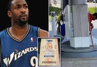loteria ex jugador nba 320x220 - Un misterioso hombre ayuda a ganar la lotería a un ex jugador de la NBA