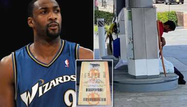 loteria ex jugador nba 384x220 - Un misterioso hombre ayuda a ganar la lotería a un ex jugador de la NBA