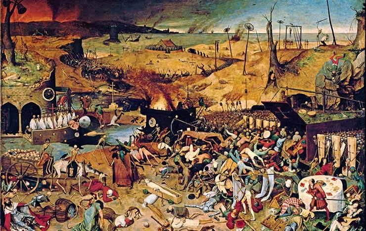 pandemia de la peste negra - Pandemias que han ocurrido en el año 20 de cada siglo, ¿maldición, conspiración o casualidad?