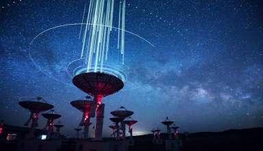 senal extraterrestre procedente nuestra galaxia 384x220 - Astrónomos detectan una señal extraterrestre procedente de nuestra galaxia