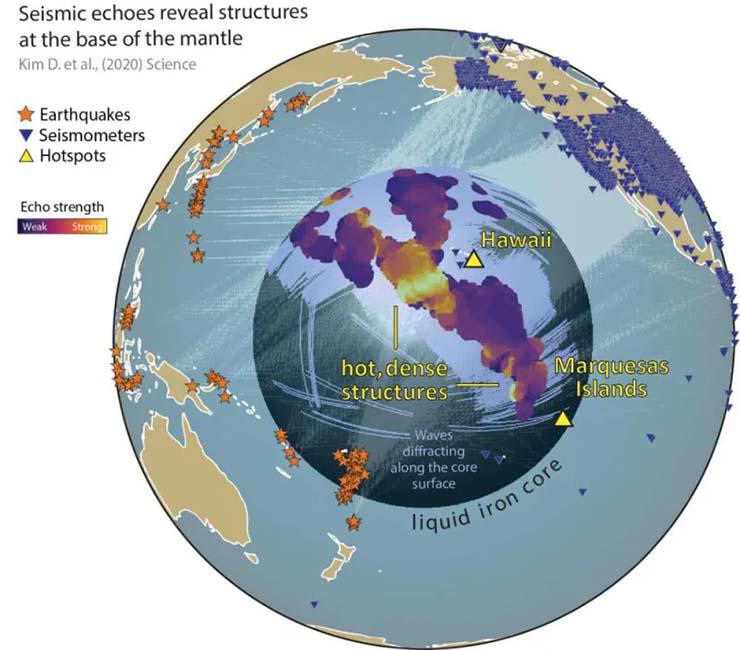 atlantida estructuras no identificadas tierra - ¿Evidencias de la Atlántida? Científicos descubren enormes estructuras no identificadas en el interior de la Tierra
