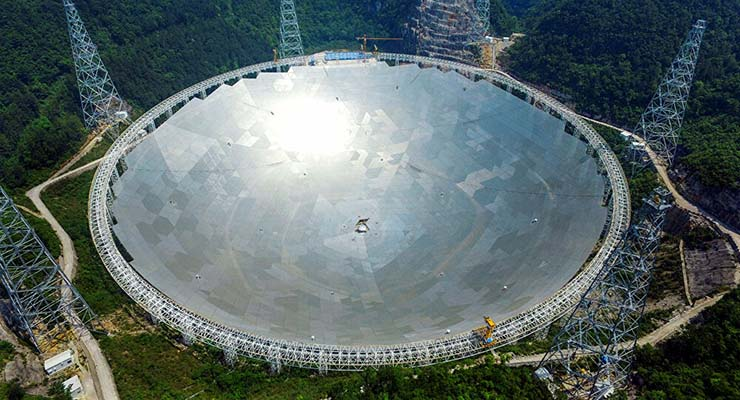 china buscar extraterrestres septiembre - China comenzará oficialmente a buscar extraterrestres en septiembre